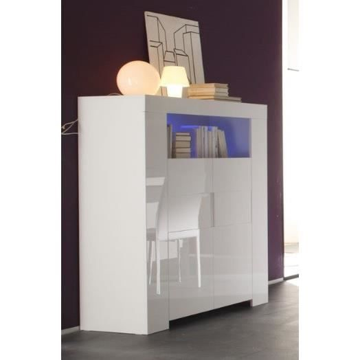 meuble de bar laque blanc achat vente meuble de bar laque blanc pas cher cdiscount. Black Bedroom Furniture Sets. Home Design Ideas