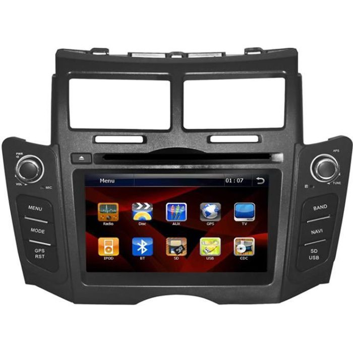 autoradio gps compatible toyota yaris achat vente autoradio autoradio gps compatible to. Black Bedroom Furniture Sets. Home Design Ideas