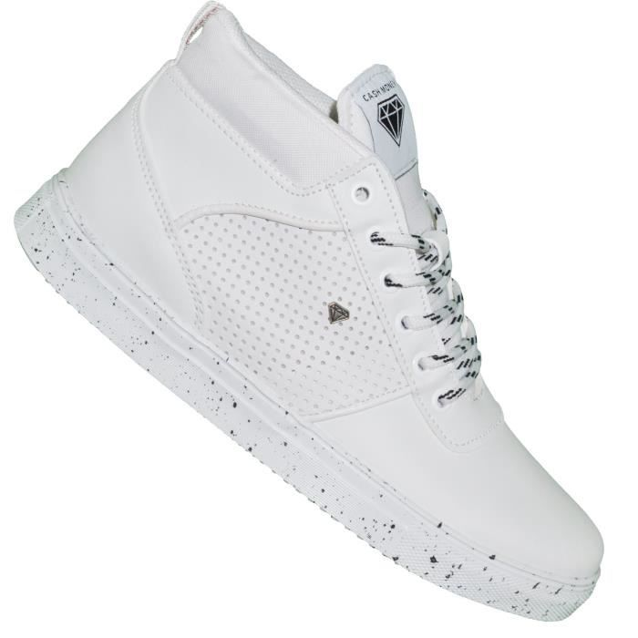 Cash Money - Baskets - Homme - Party Cms 42 - Blanc V7ysS
