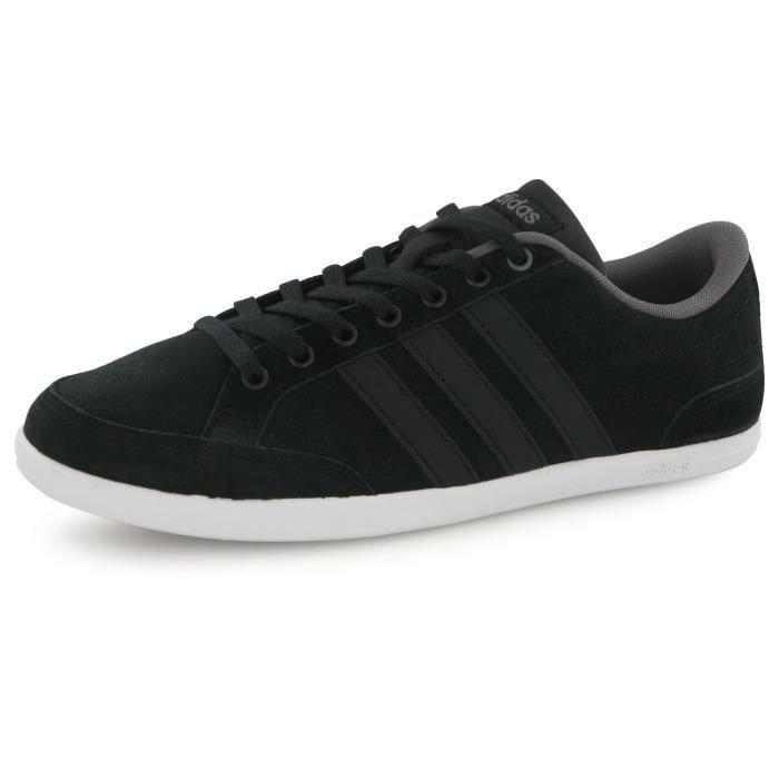Adidas Neo Caflaire noir, baskets mode homme Noir Achat