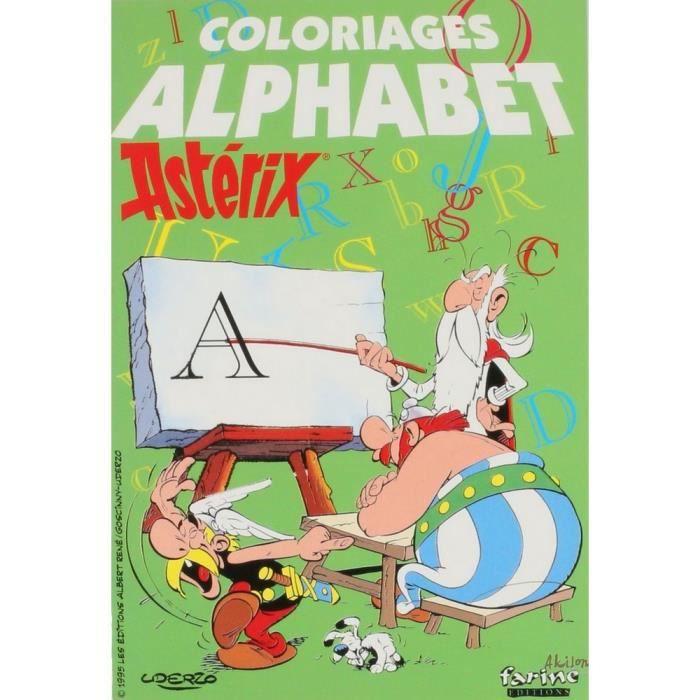 Livre De Coloriage Asterix Et Obelix L Alphabet 13x19cm Achat Vente Bloc Note Livre De Coloriage Asterix Et Cdiscount