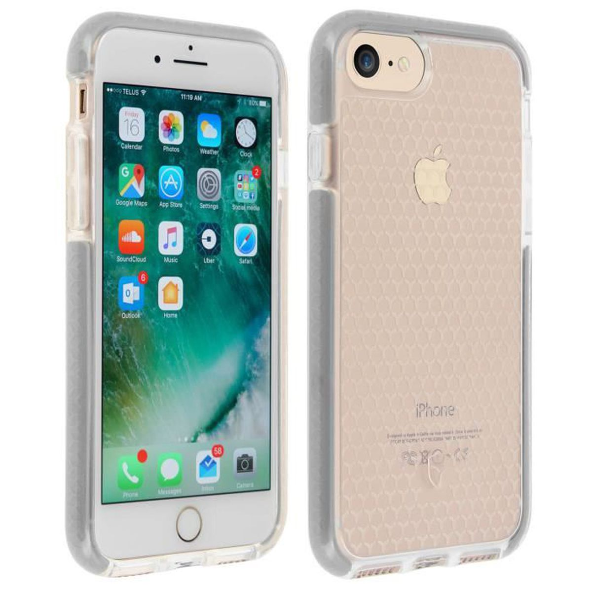 coque force case iphone 6 6s 7 life arge