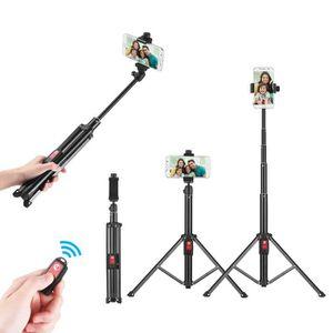 TRÉPIED 55inch trépied flexible Selfie bâton support avec