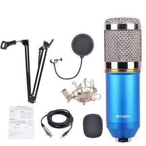 MICROPHONE 3 en 1 Vogue BM800 Microphone à condensateur Pro A