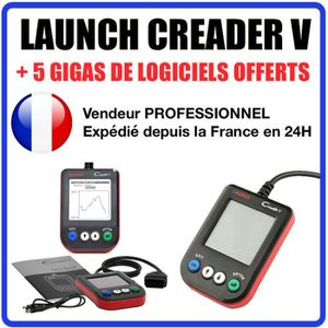 OUTIL DE DIAGNOSTIC LAUNCH CREADER V - Valise Diagnostique MULTIMARQUE