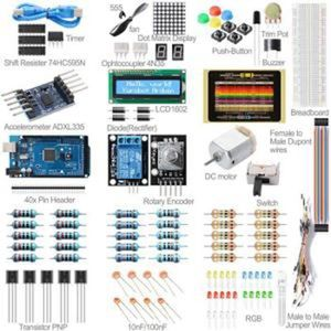 PIÈCE MATERIAL ELECTRIQUE.  Projet de kit ultraviolet pour Arduino UNO R