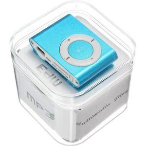 LECTEUR MP3 Lecteur baladeur MP3 Multimédia Player Bleu Pas de