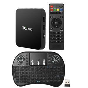 BOX MULTIMEDIA TX3 PRO Smart Android 6.0 Boîtier TV S905X UHD Min