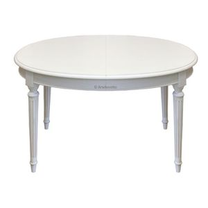 Table ronde a rallonge achat vente table ronde a for Table ovale extensible pas cher