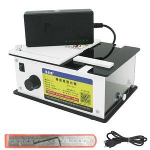 SCIE ÉLECTRIQUE Docooler Scie à table électrique mini banc de trav