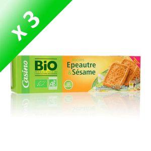 BISCUITS DIÉTÉTIQUES [LOT DE 3] BOUVARD BISCUITS Biscuit blé épeautre e