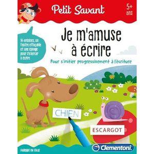 JEU D'APPRENTISSAGE CLEMENTONI Petit Savant - Je m'amuse à écrire