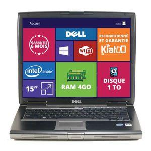 ORDINATEUR PORTABLE PC PORTABLE 15 POUCES DELL LATITUDE D520 4GO RAM 1
