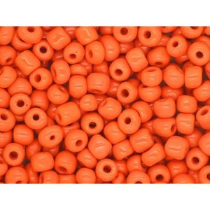 Perles de Rocailles en verre Opaque 2mm 12//0 Rouge Orangé 20g environ 1600 pcs