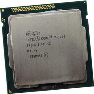 PROCESSEUR Processeur CPU Intel Core I7-3770 3.4Ghz 8Mo 5GT/s