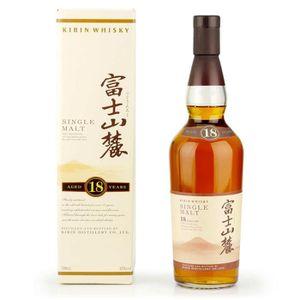 WHISKY BOURBON SCOTCH Kirin Whisky - 18 Ans - Single Malt - 70 cl - 43 %