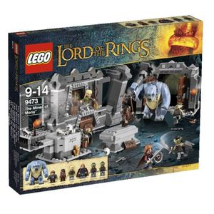 ASSEMBLAGE CONSTRUCTION Lego The Lord of The Ring Les Mines de La Moria