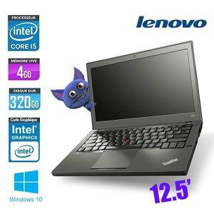 Top achat PC Portable LENOVO THINKPAD X240 CORE I5 pas cher