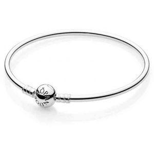BRACELET - GOURMETTE Bracelet Jonc Argent Pandora - 5…