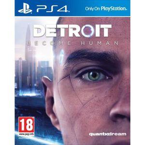 JEU PS4 Detroit Become Human PS4 + 1 Porte Clé + 2 led lig