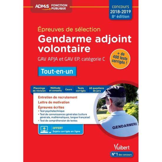 Epreuves De Sélection Gendarme Adjoint Volontaire Gav Apja