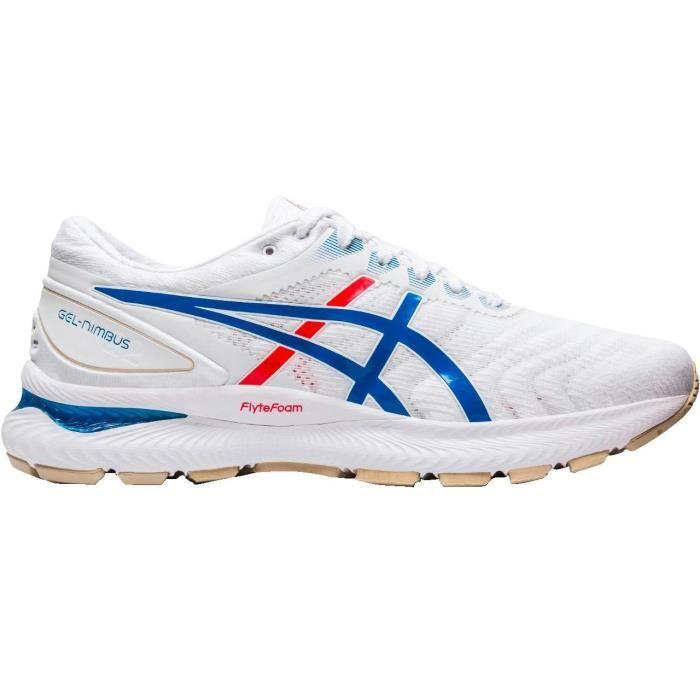 ASICS Chaussures de running Gel-Nimbus 22 - RET- Homme - Blanc