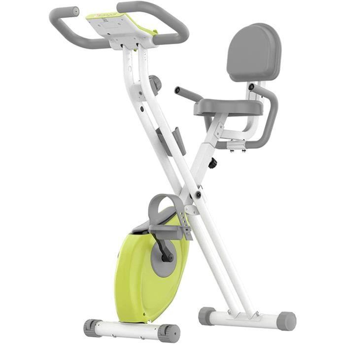Mini vélo d'appartement intérieur LED Affichage vélo de Spinning magnétique Pliable équipement de Fitness à Domicile, adapté po A164