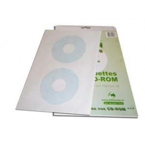 CD Label Vendus par pack de 30 étiquettes