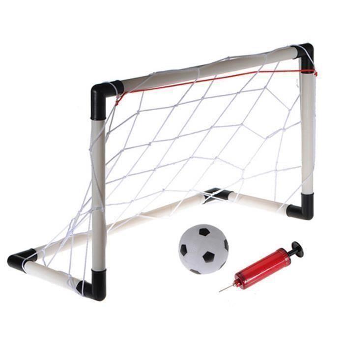 Mini Football But Cage Filet Ballon Foot Soccer Enfant Extérieur Intérieur Jeu WYK75861
