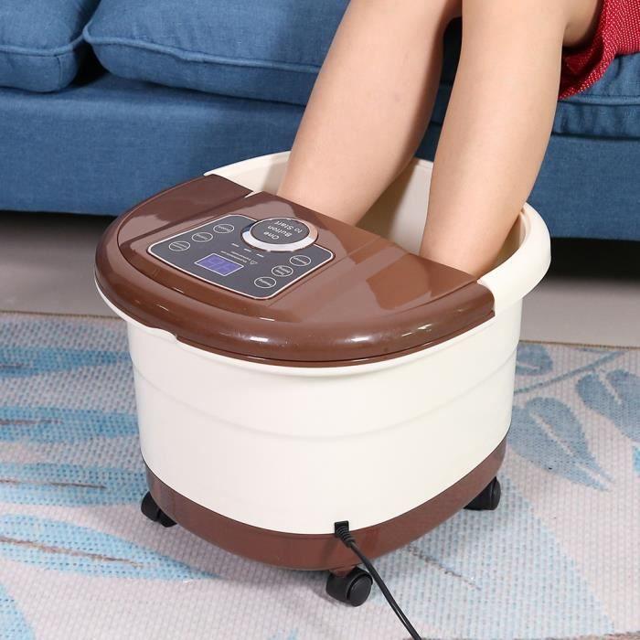 Masseur de spa pour les pieds Portable Vibration Pédicure Tremper Baignoire UK Plug 220 V HB045 -LES