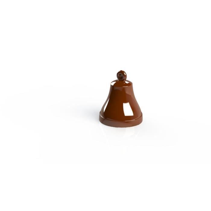 FRIFRI ZCMOUL4 - Moules 3D Cloche de Pâques - Sans BPA - Facile à utiliser - Instructions d'utilisation incluses