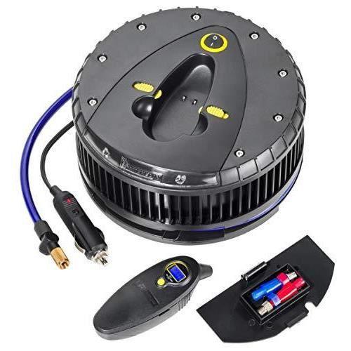 MICHELIN - 92412 Compresseur numérique hautes performances avec LED et contrôleur de pression des pneus amovible