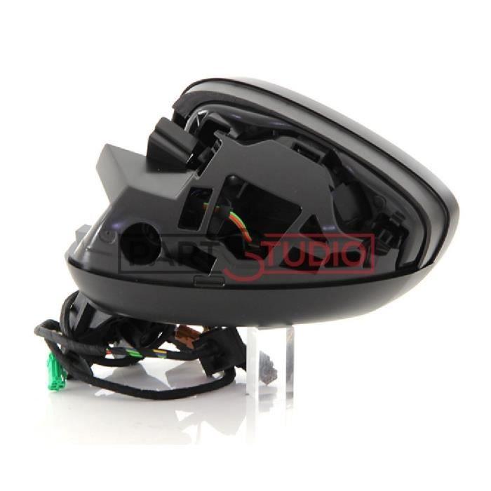 Rétroviseur gauche réglage électrique chauffant d origine conducteur, Citroen C4 de 09/08 à 10/10
