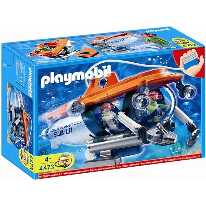 Playmobil Sous marin de recherche