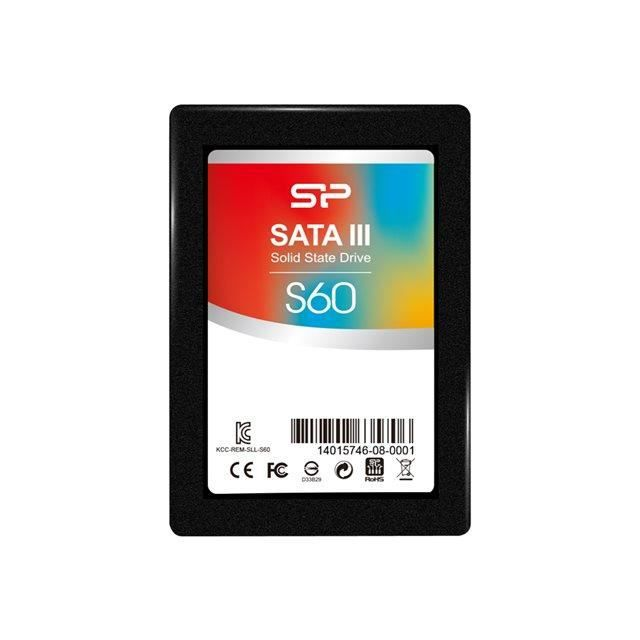 SILICON POWER SSD - SATAIII (MLC) - S60 - 240 GB - 7mm 2.5- entry level