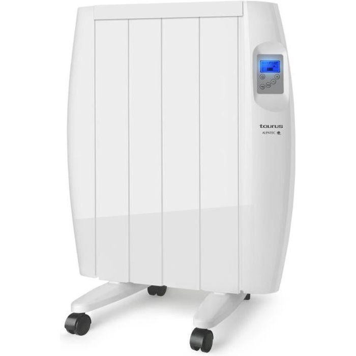 TAURUS Radiateur électrique à inertie sèche Malbork 600 - 600W