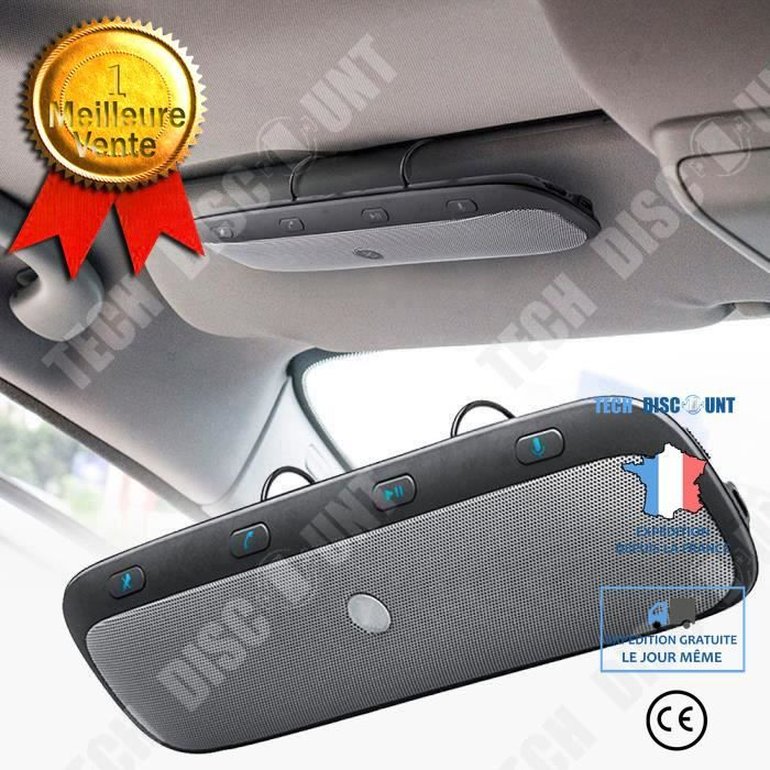TD® Haut parleur sans fil multimédia bluetooth musique son portable carte SD Réduction de bruit transmetteur FM