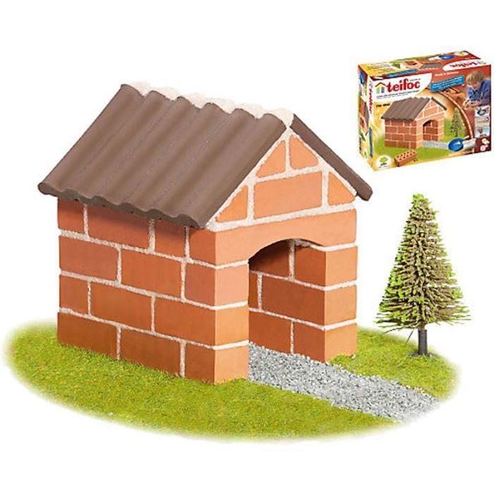 Construction en briques : Petite maison