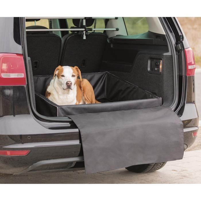 TRIXIE Lit pour coffre de voiture 60 × 50 cm - Noir - Pour chien