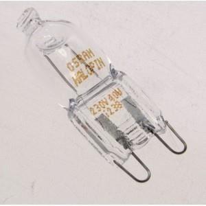 LAMPE HALOGENE 40W POUR CUISINIERE WHIRLPOOL APPAREIL CONCERNES : AKZM 770/NB 481010391431 AKZM77