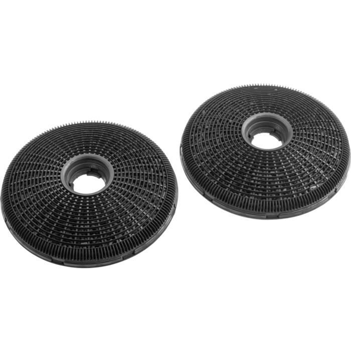 Zanussi ECFB02, Cooker hood filter, Noir, Fibre de carbone, Zanussi, ZHC92462XA, ZHC62462XA, 190 mm