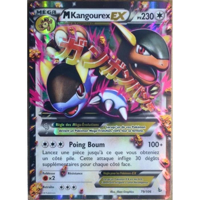 Cartes Pokemon Gravalanch 100 pv XY Etincelles x 2  !!!