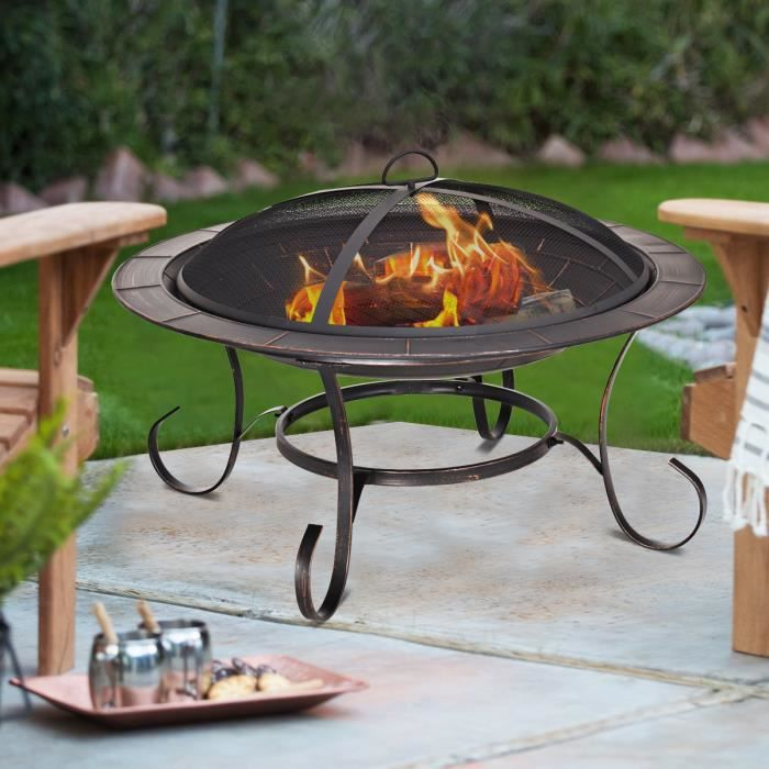 Jardin Terrasse Barbecues Chauffage Exterieur Grand Jardin
