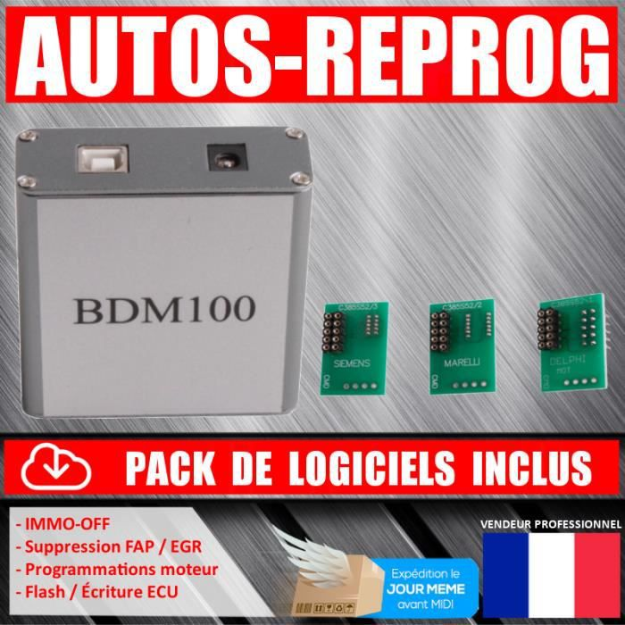 bdm100 interface reprogrammation moteur flash ecu achat vente outil de diagnostic bdm100. Black Bedroom Furniture Sets. Home Design Ideas