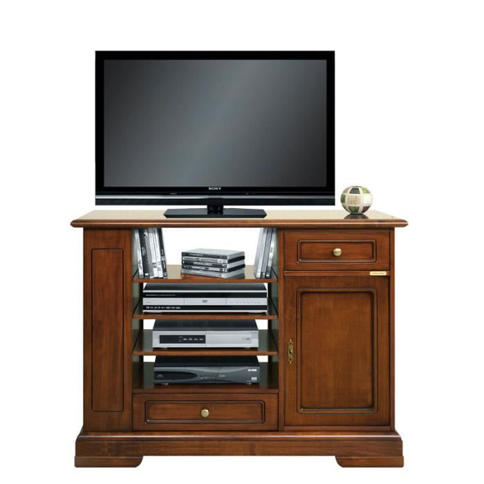 meuble buffet tv haut complet achat vente meuble tv meuble buffet tv haut complet cdiscount. Black Bedroom Furniture Sets. Home Design Ideas