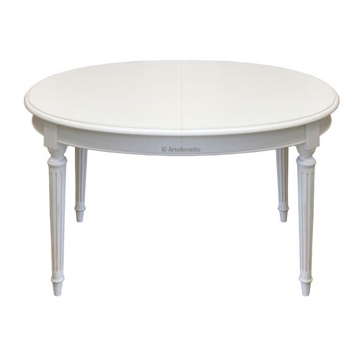 Table ovale extensible style louis xvi achat vente for Table ovale extensible