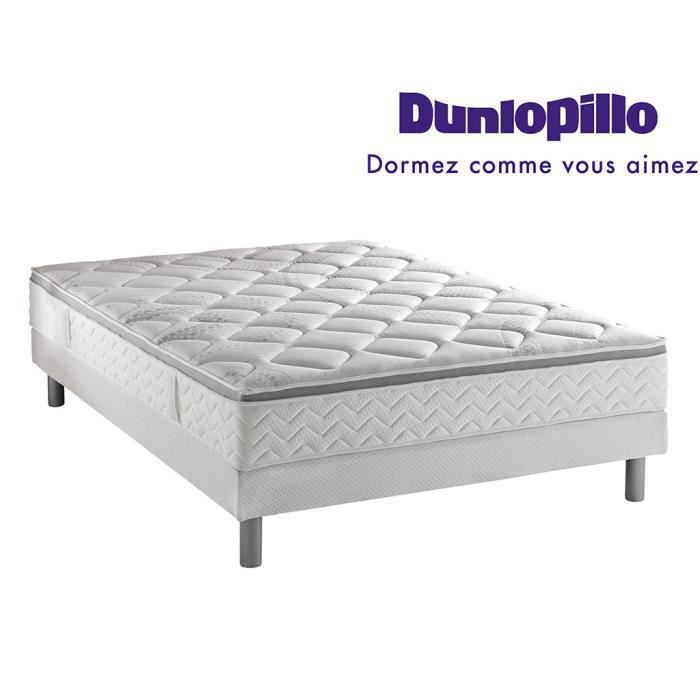 ensemble dunlopillo matelas aero grand luxe 180x200 2 sommiers 90x200 pieds achat vente. Black Bedroom Furniture Sets. Home Design Ideas