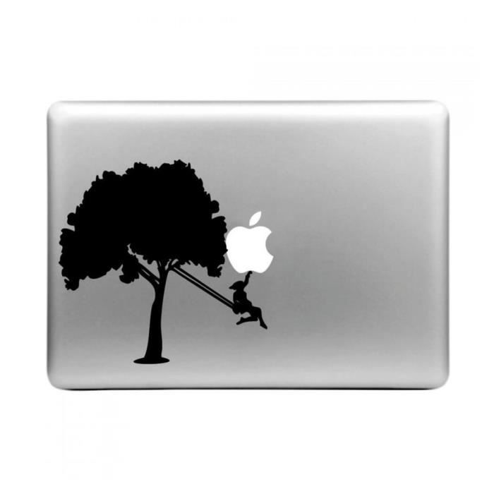 sticker d calcomanie arbre balan oire pour macbook air pro 11 13 et 15 prix pas cher. Black Bedroom Furniture Sets. Home Design Ideas