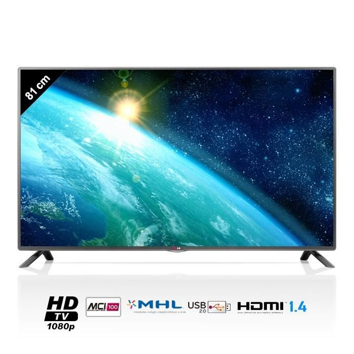 lg 32lb5610 tv led full hd 81cm 32 achat vente. Black Bedroom Furniture Sets. Home Design Ideas