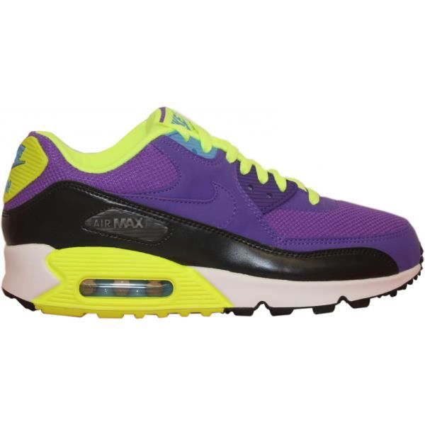 NIKE AIR MAX 90 ESSENTIAL Violet Violet - Cdiscount Chaussures